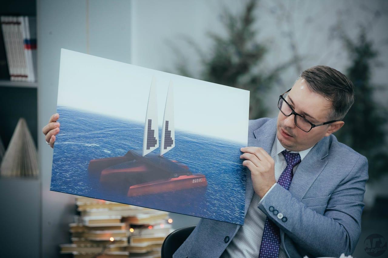 В АГУ разработали морское безэкипажное судно