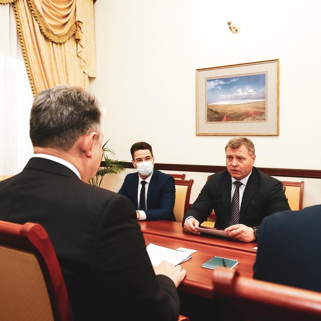 Игорь Бабушкин позвал казахстанский бизнес в Каспийский кластер
