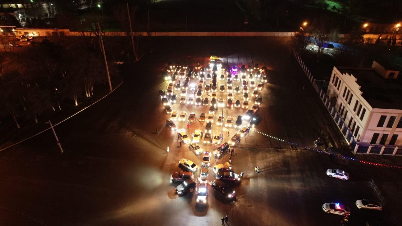 Астраханские полицейские были не рады автоелке
