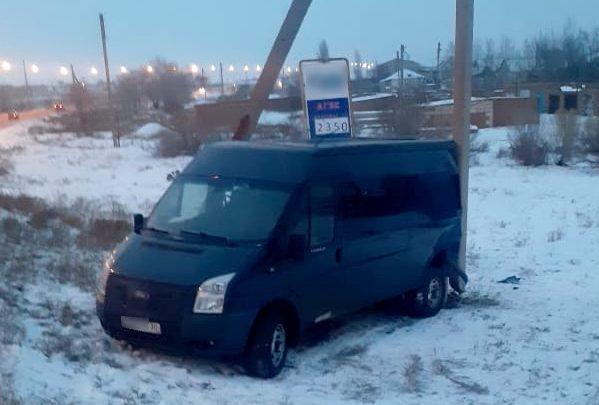 Под Астраханью из «Газели» выпали пассажиры из-за невнимательного водителя