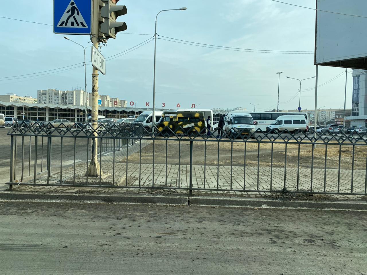 Маршрутки Астрахань — Нариманов перестали отправляться с автовокзала