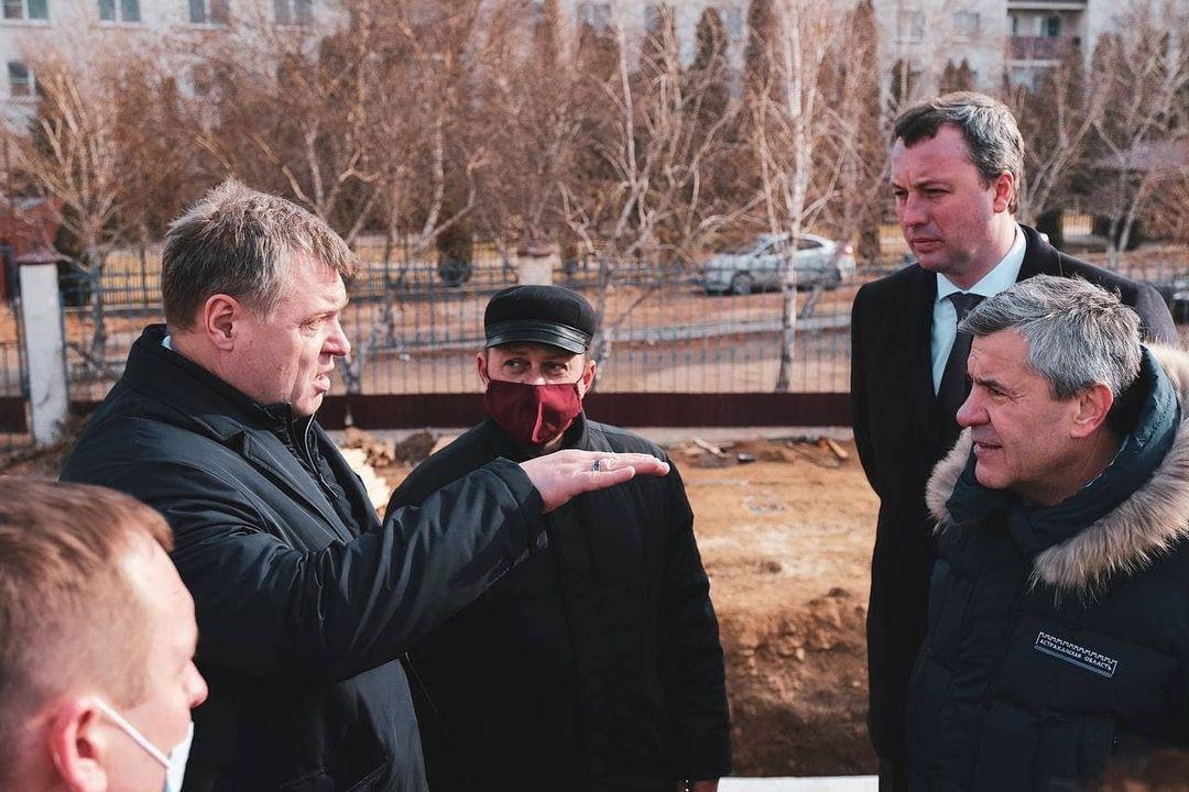 Игорь Бабушкин заметил отставание ремонта Милицейского моста от графика