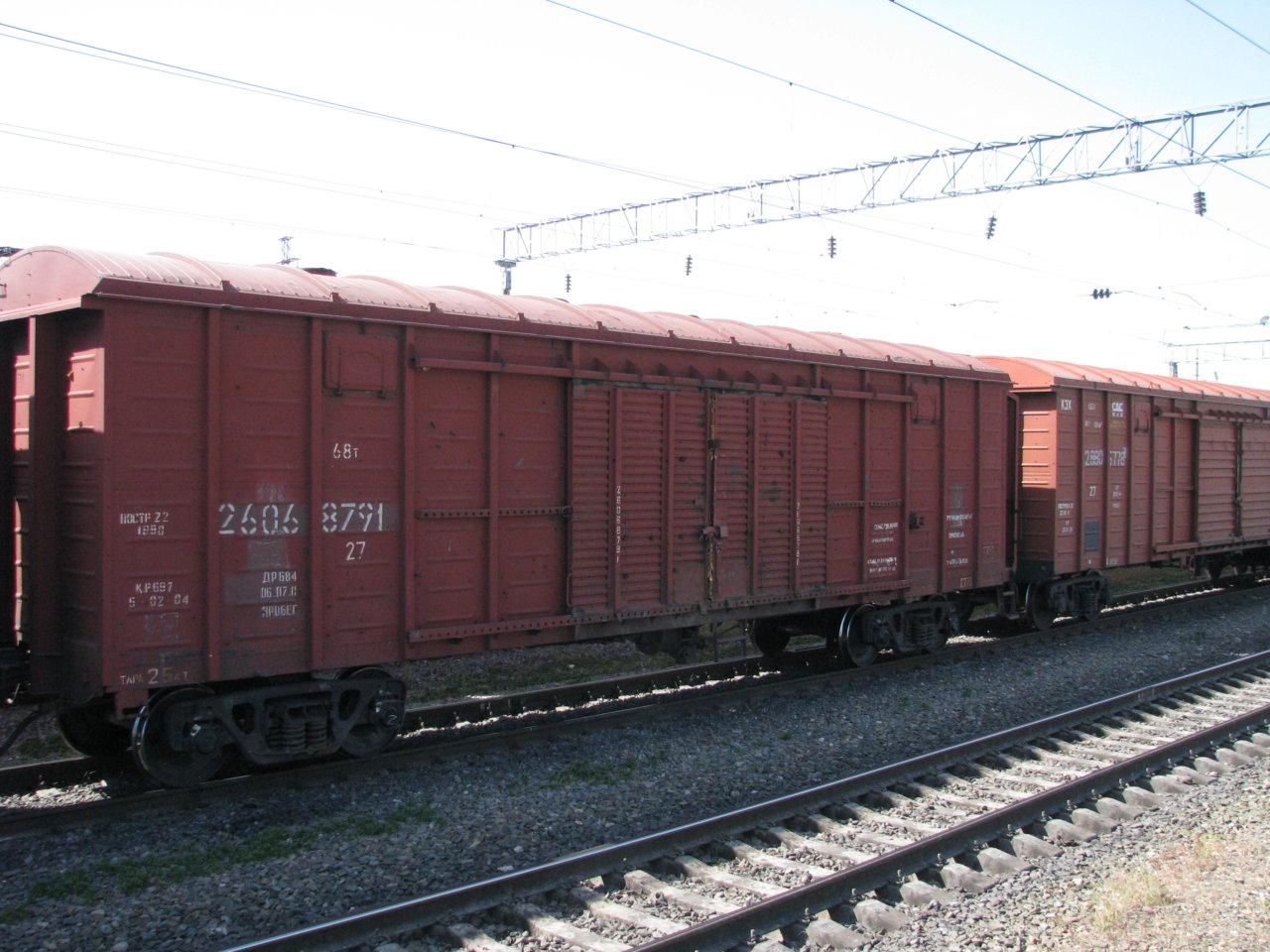 Погрузка на железной дороге в Астраханской области составила более 5,2 млн тонн в январе-сентябре