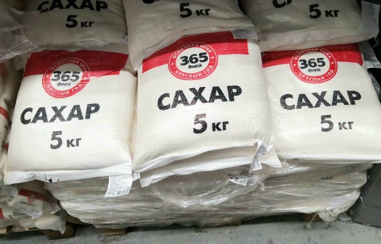 В Астраханской области рекордно подорожал сахар