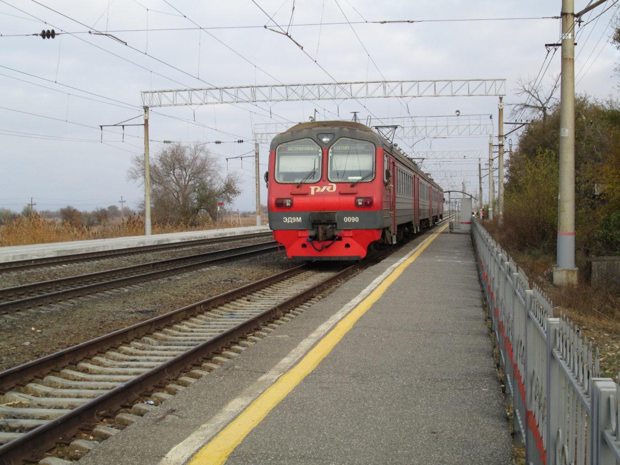В Астрахань снова возвращается дачная электричка Кутум — Дельта