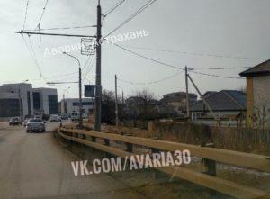На Аэропортовском мосту установили камеры на 40 километров в час