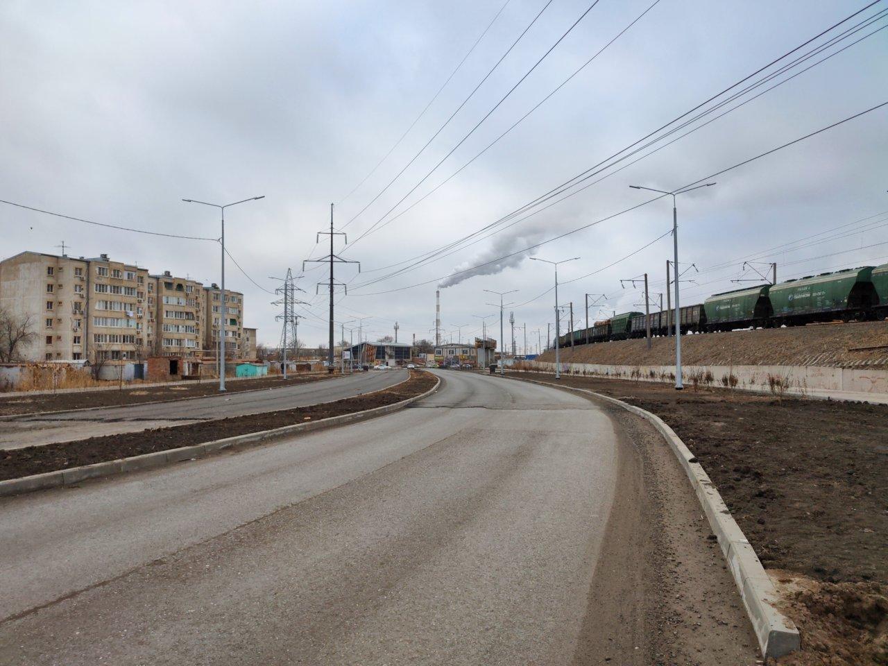 В Астрахани открыта новая дорога между Куликова и Спутником