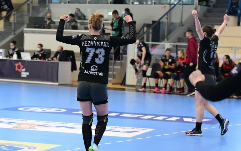 Гандбольная команда «Астраханочка» уверенно победила в Германии