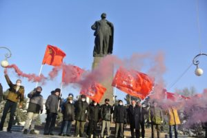 В Астрахани почтили память Ленина
