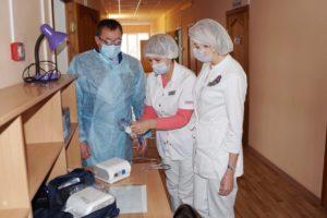 В харабалинских больницах появилось современное оборудование