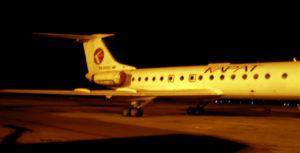 Ту-134 компании «Карат», полученный от «Астраханских авиалиний»