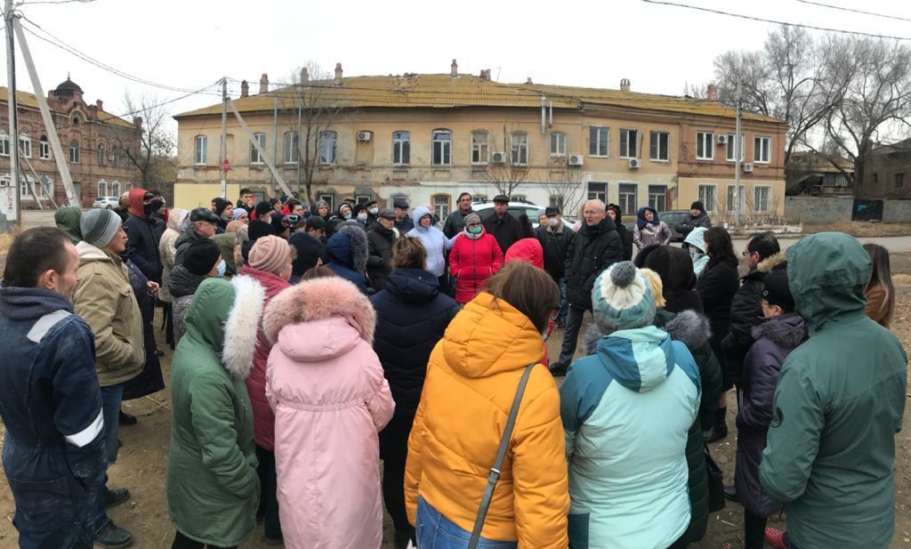 Астраханцы потребовали не расселять исторический центр