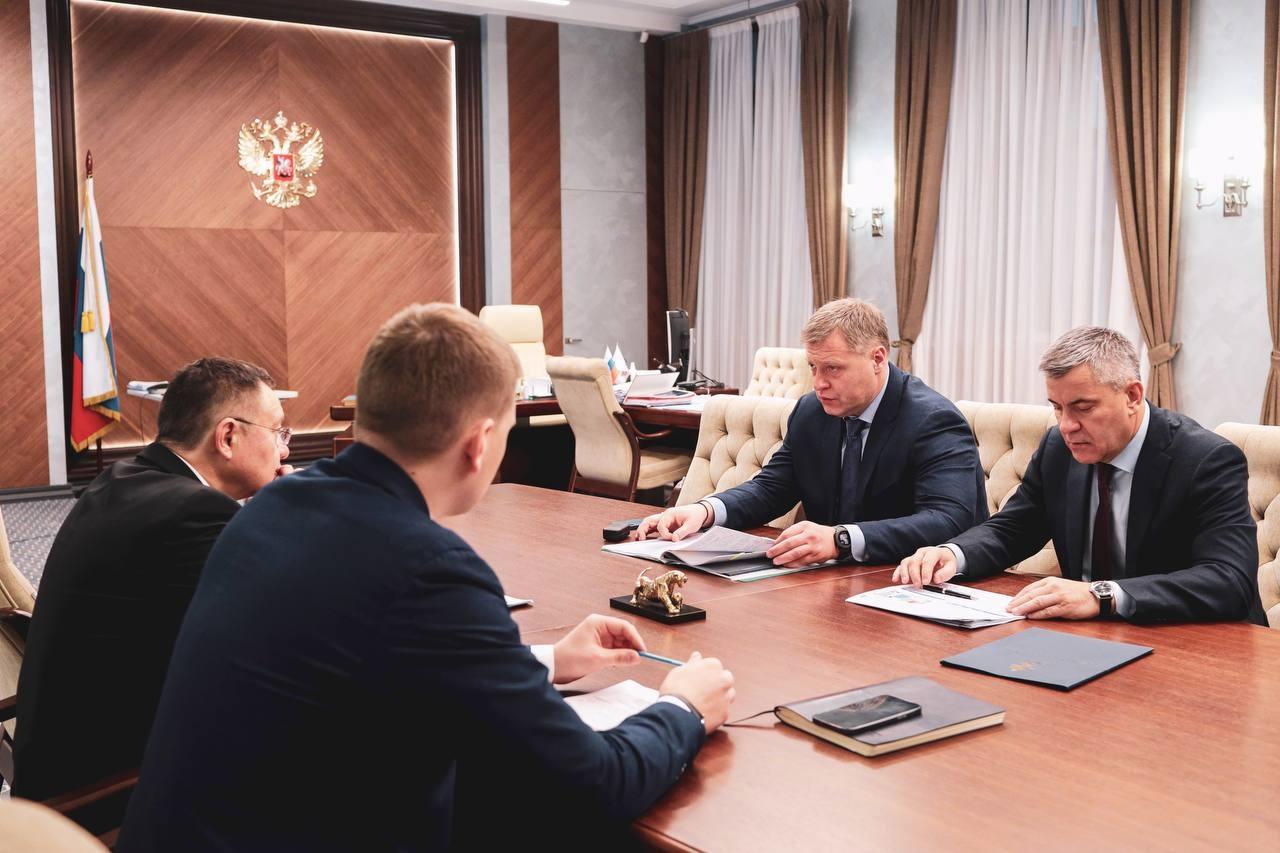 Игорь Бабушкин рассказал главе Минстроя РФ о планах по строительству жилья