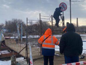 Восстановление моста на Десятке в Астрахани начнется вместе с потеплением