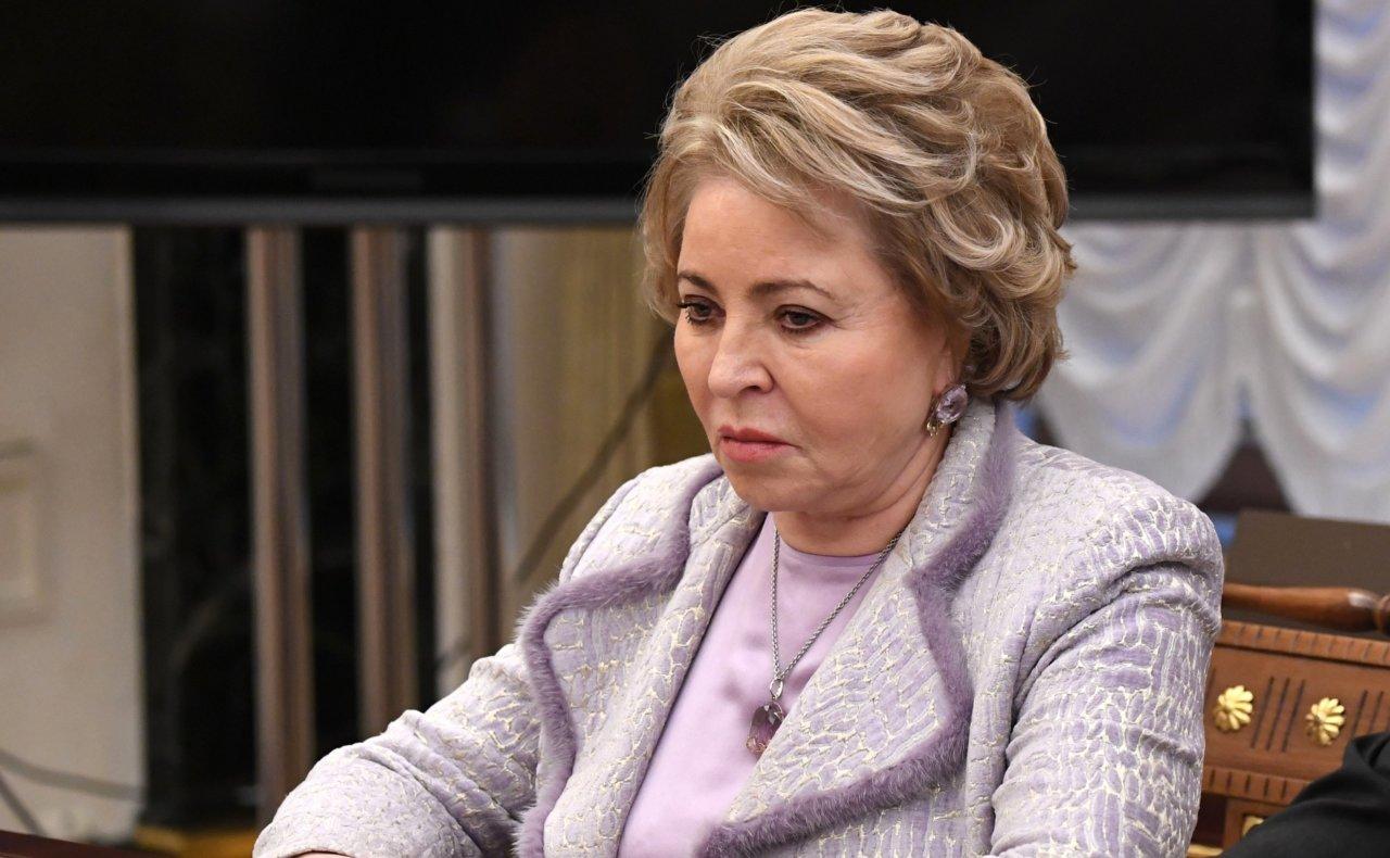 Матвиенко: я получаю пенсию в размере 25 тысяч рублей