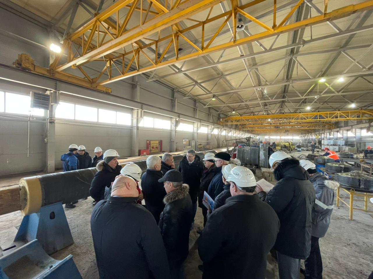 В Астрахани появится около 300 новых рабочих мест на производстве труб и свай