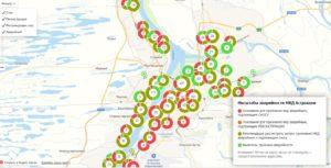 Астраханские дома «под снос» нанесли на карту