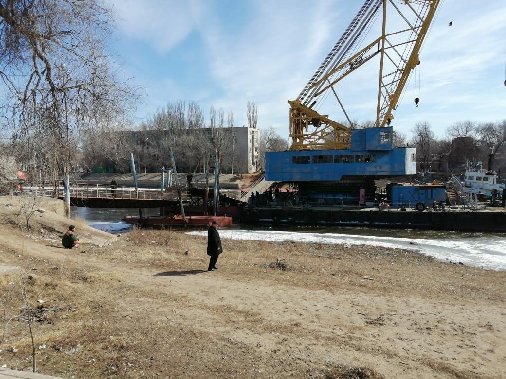 В Астрахани приступили к ремонту моста на Десятке