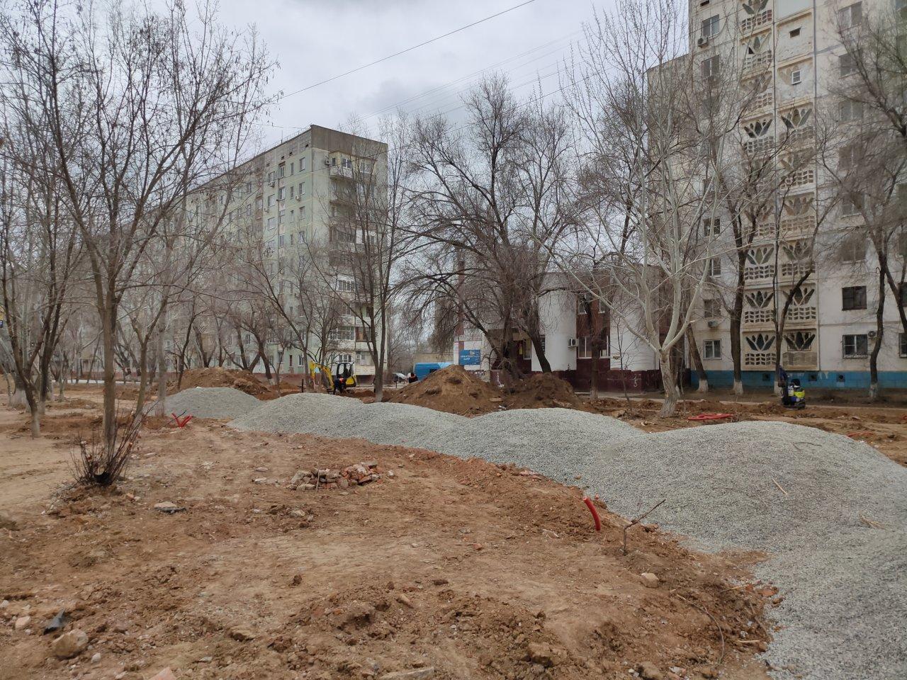 Бульвар в микрорайоне Юго-Восток-3 обновят к концу сентября