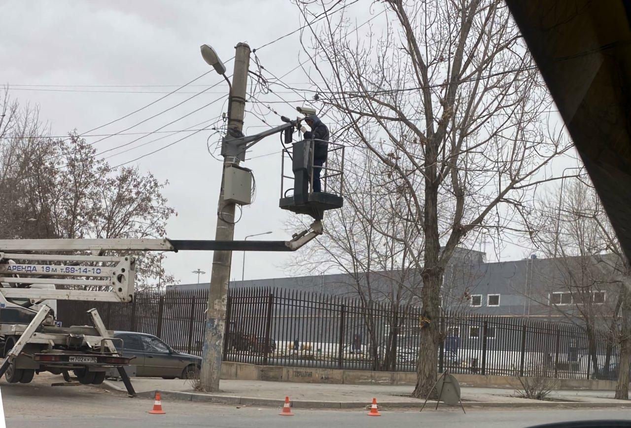 На улице Космонавтов поставили камеру видеофиксации