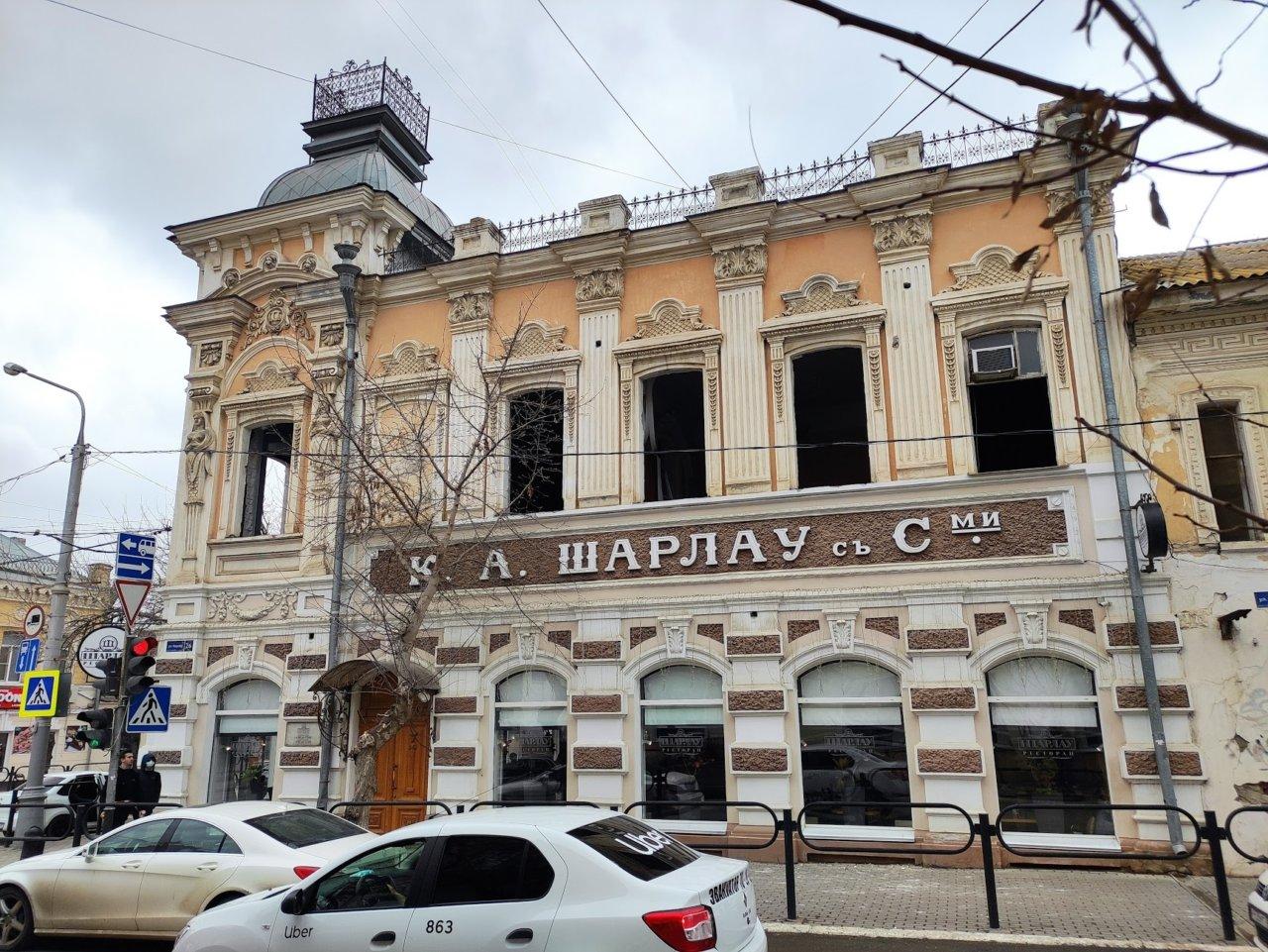 Астраханские урбанисты переживают за внешний вид здания «Шарлау»