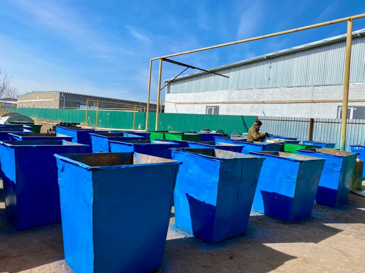 Регоператор ООО «ЭкоЦентр» отремонтировал свыше 350 контейнеров