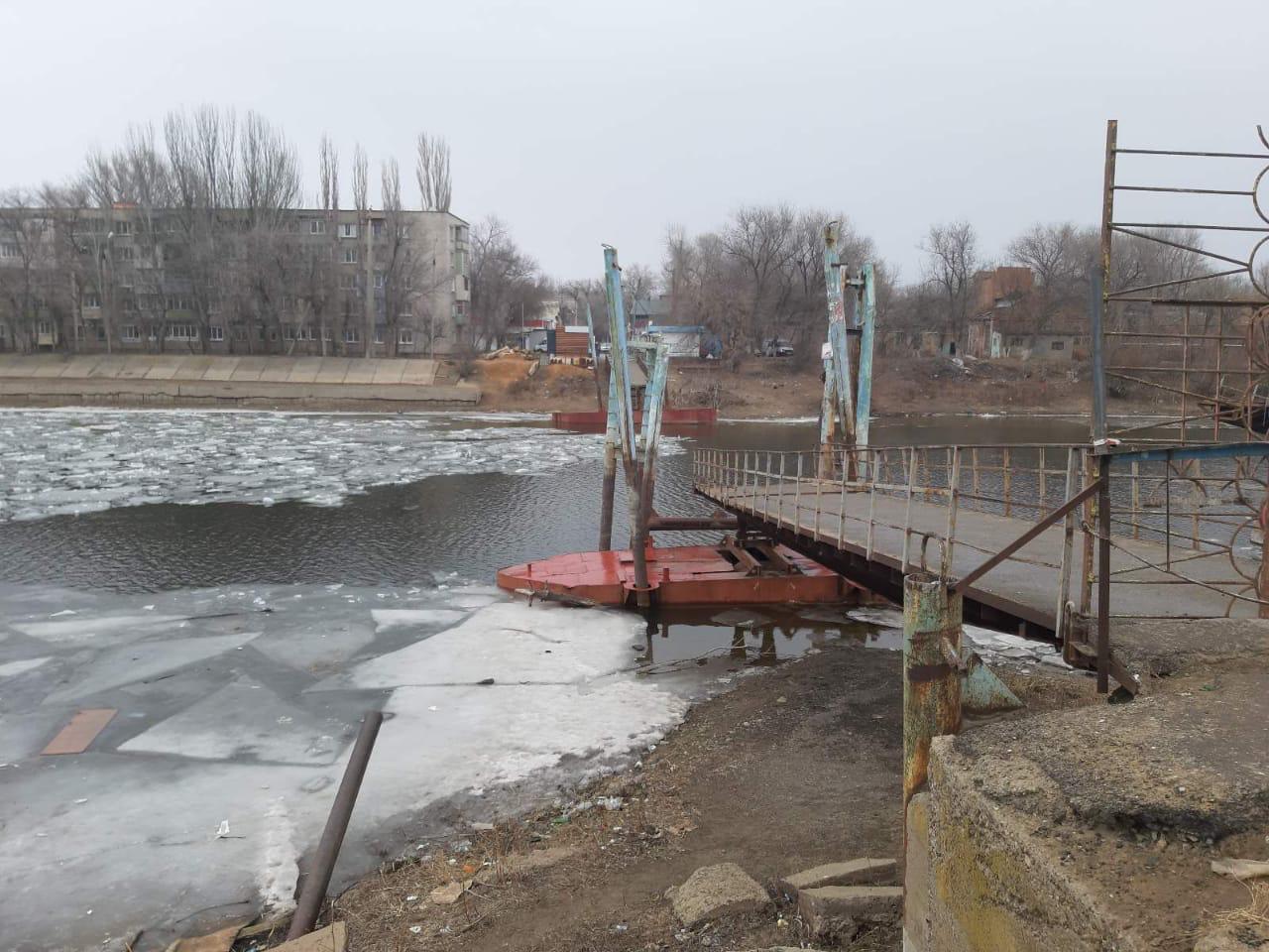 Понтоны моста на Десятке не подлежат ремонту