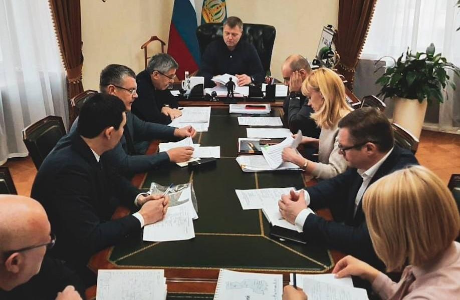 Игорь Бабушкин начал серию встреч с главами районов