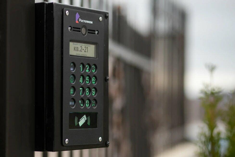 «Ростелеком Ключ»: первый умный домофон от «Ростелекома» появился в Астрахани