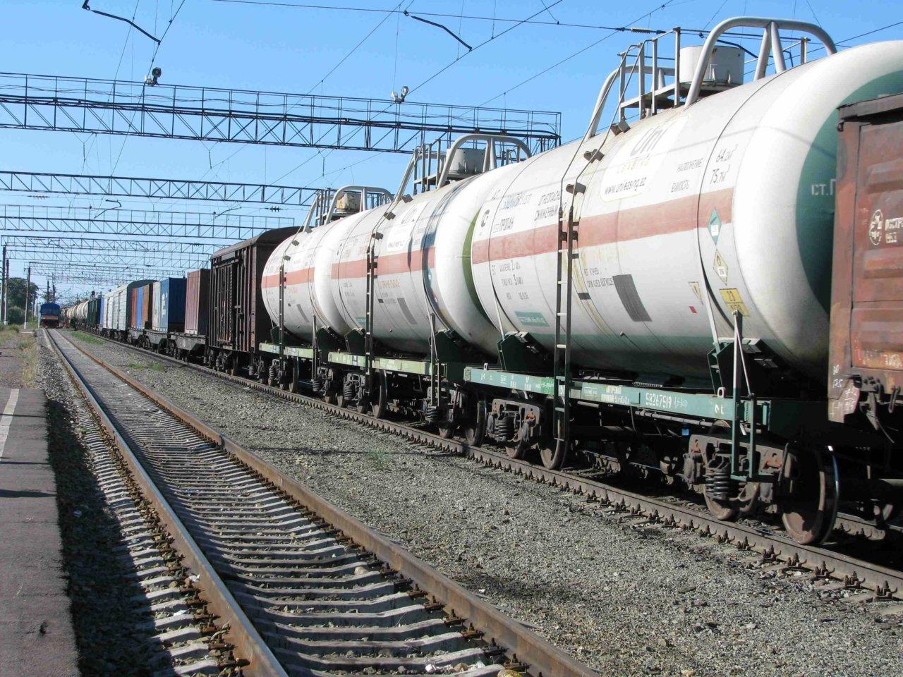 Погрузка на железной дороге в Астраханской области выросла на 0,5% в январе-марте