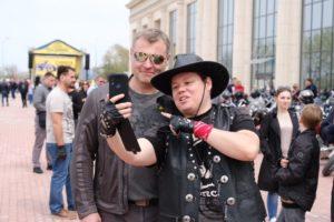 Игорь Бабушкин открыл мотосезон в Астрахани