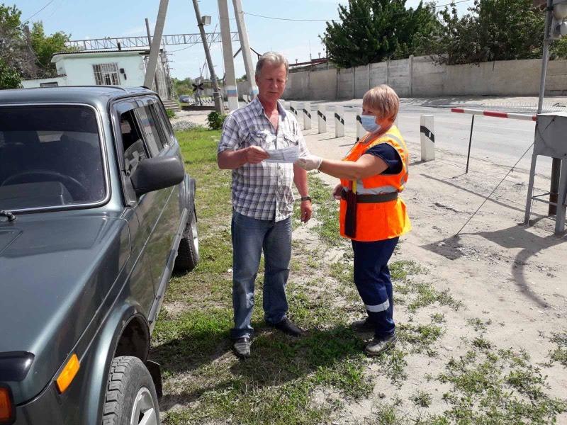 Нулевая аварийность на железнодорожных переездах сохраняется в Астраханском регионе ПривЖД