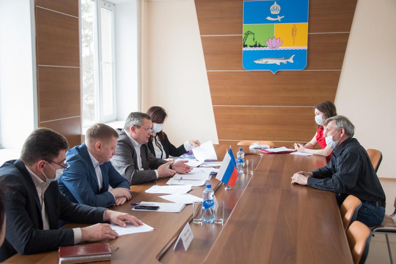 Игорь Мартынов встретился с председателями садоводческих товариществ