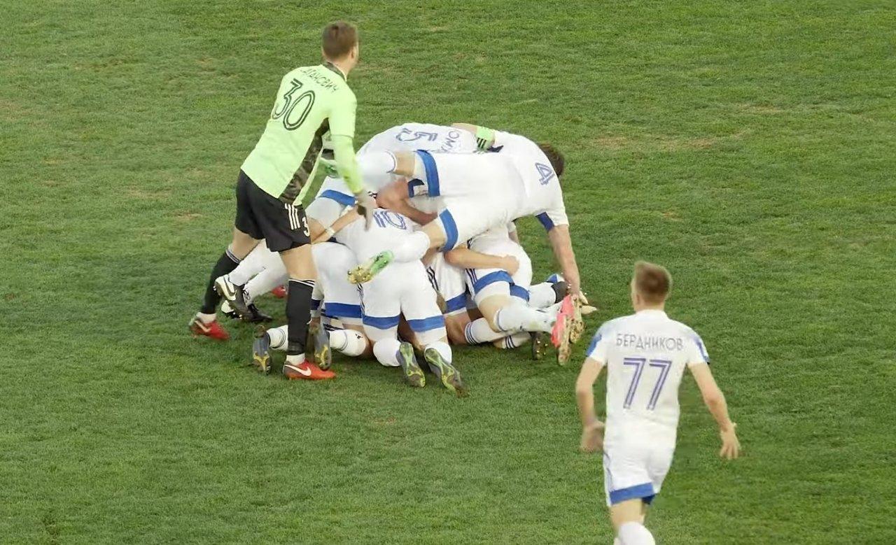 Игрок «Волгаря» забил чудо-гол