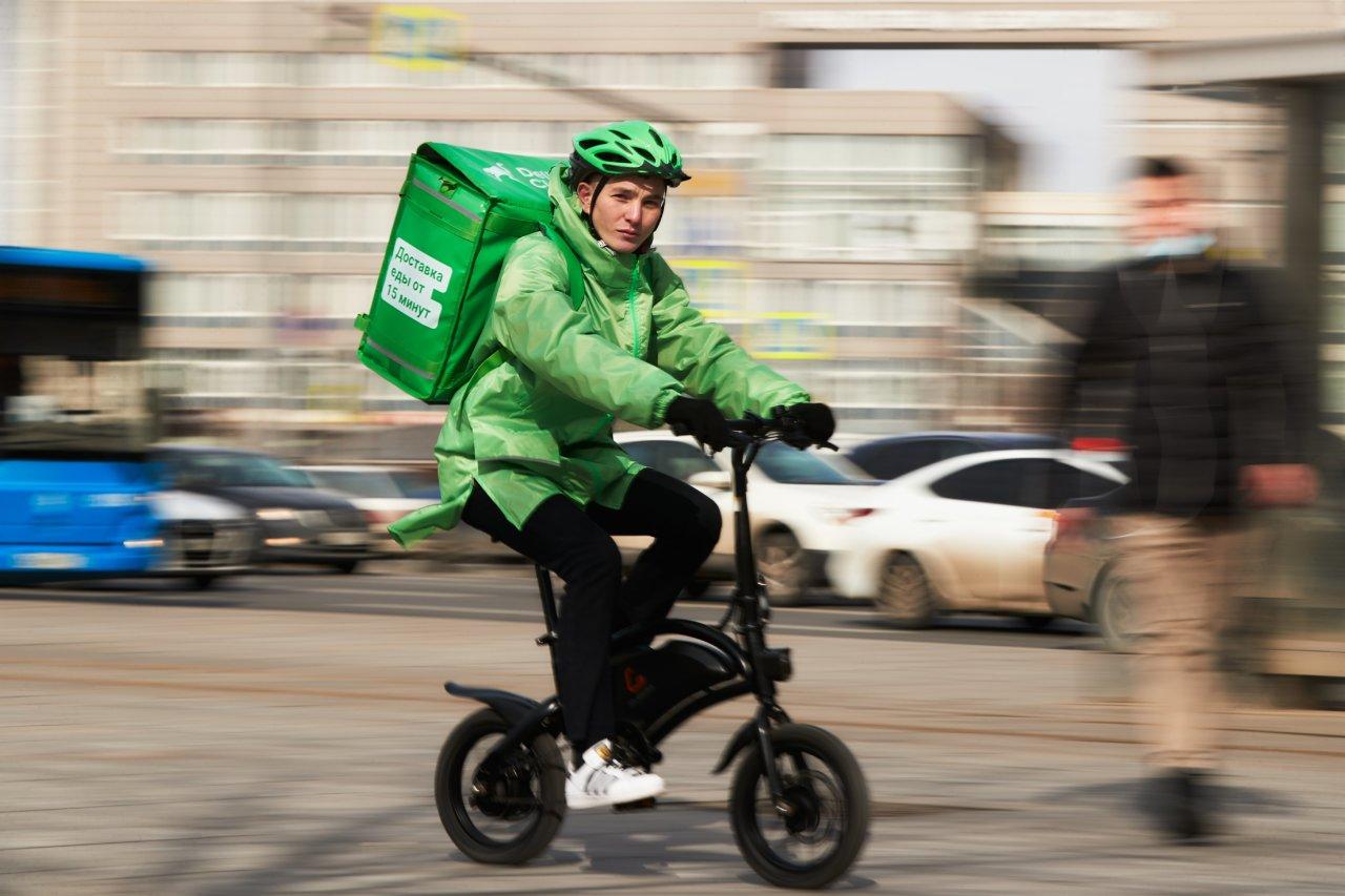 В Астрахани стремительно растет спрос на доставку готовой еды