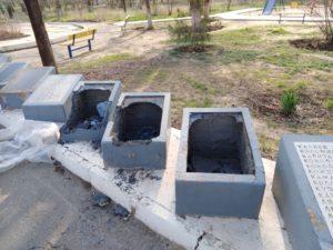 Мемориал в селе Сасыколи разгромили школьники 10-11 лет