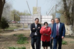 Игорь Мартынов пообщался с жителями Харабалинского района