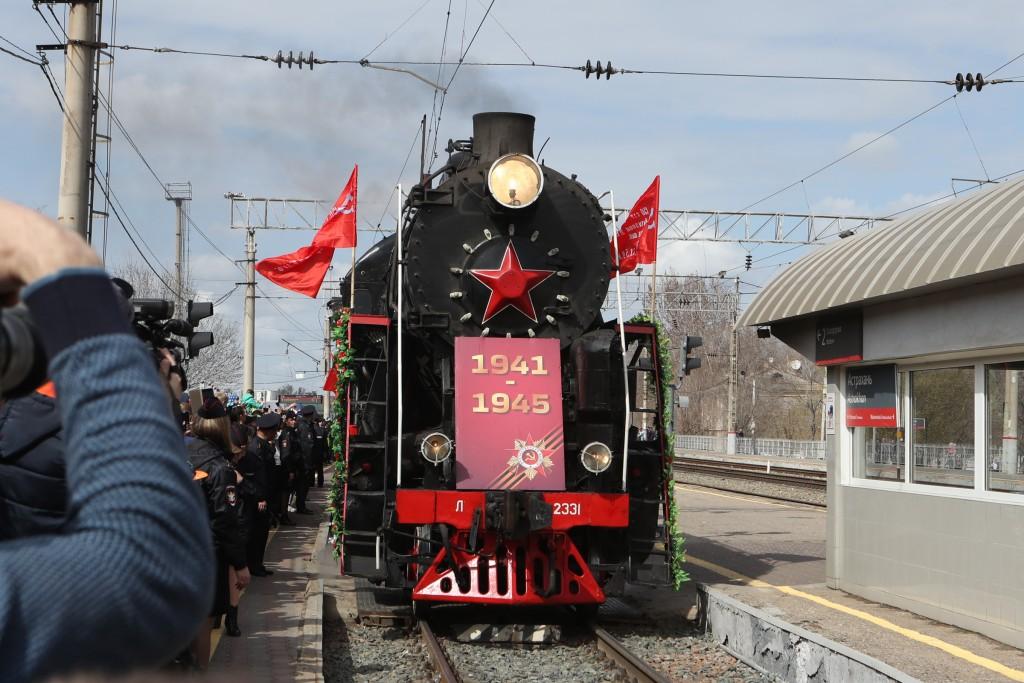 Ретропоезд «Воинский эшелон» посетит 4 железнодорожные станции в Астраханской области
