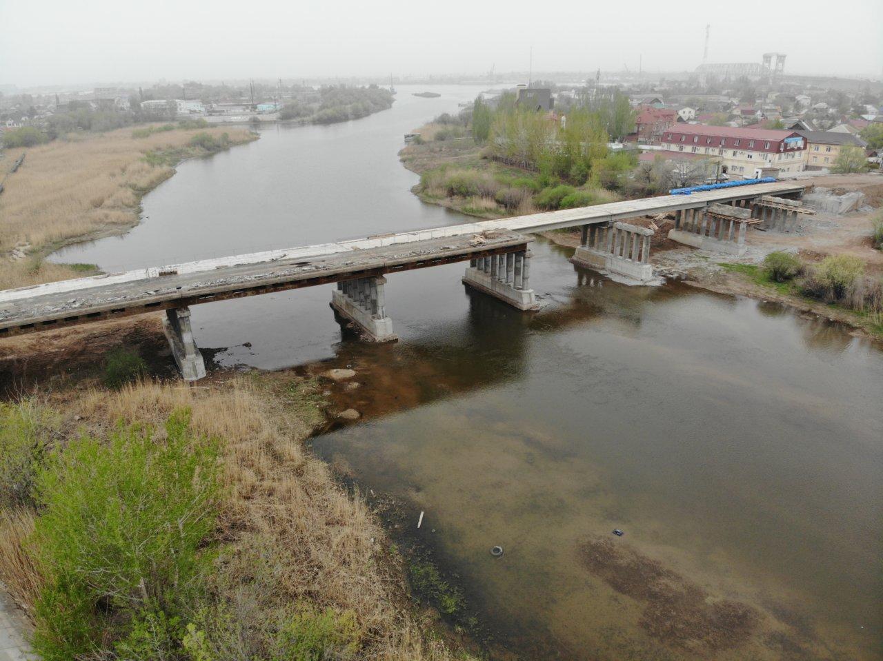 Милицейский мост достроит компания из Ростова-на-Дону