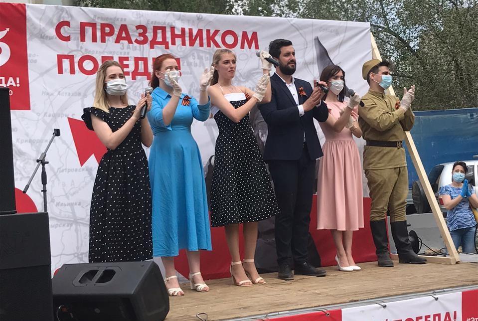 Во дворы Астрахани направят «Фронтовые бригады»