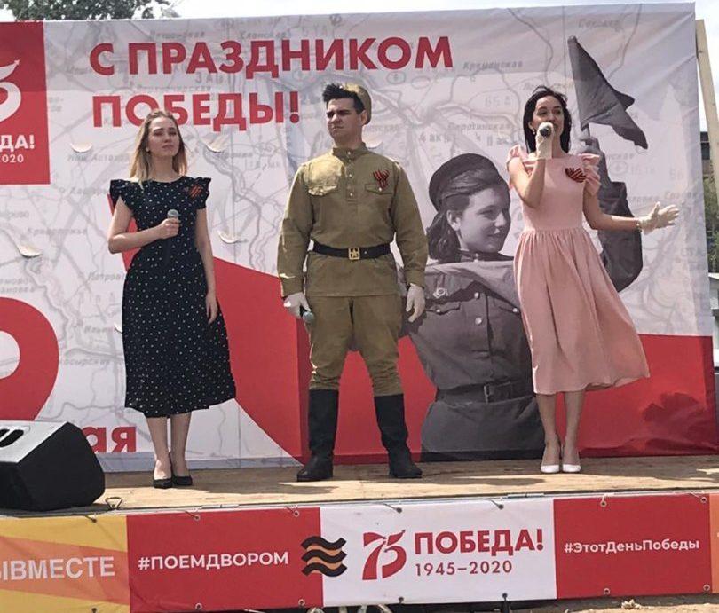 Астраханские артисты выступят во дворах ветеранов Великой Отечественной войны