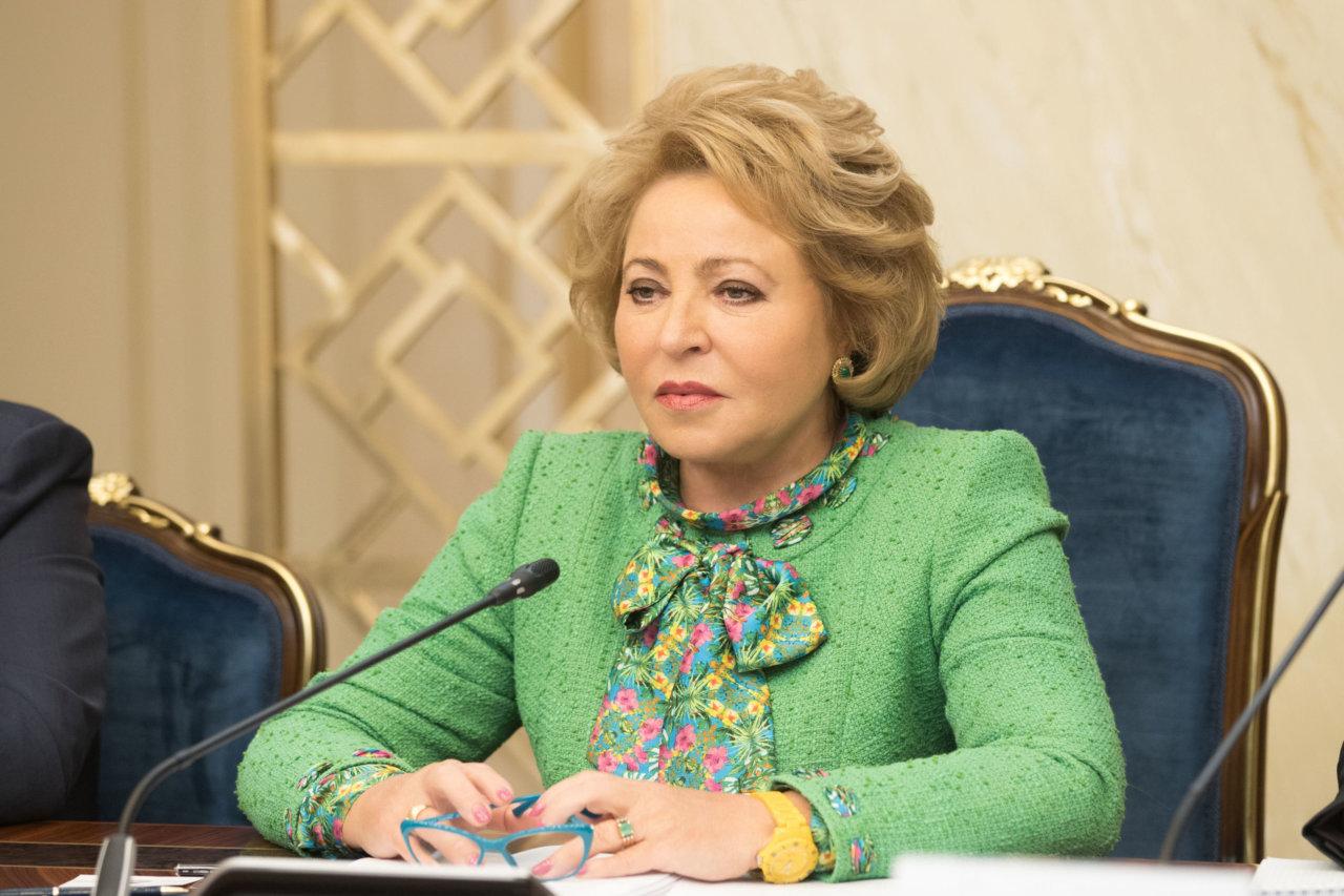 Валентина Матвиенко напомнила про астраханских дворняжек