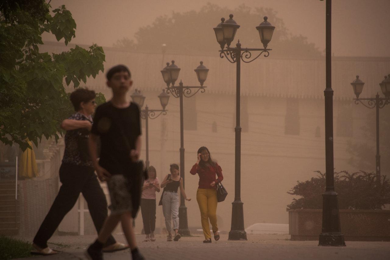 В Астраханской области прогнозируют четвертую за месяц пыльную бурю