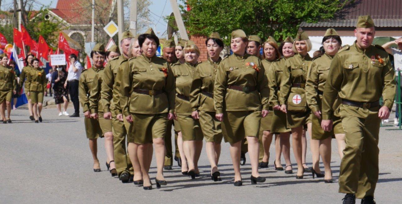 В Приволжском районе прошел парад Победы