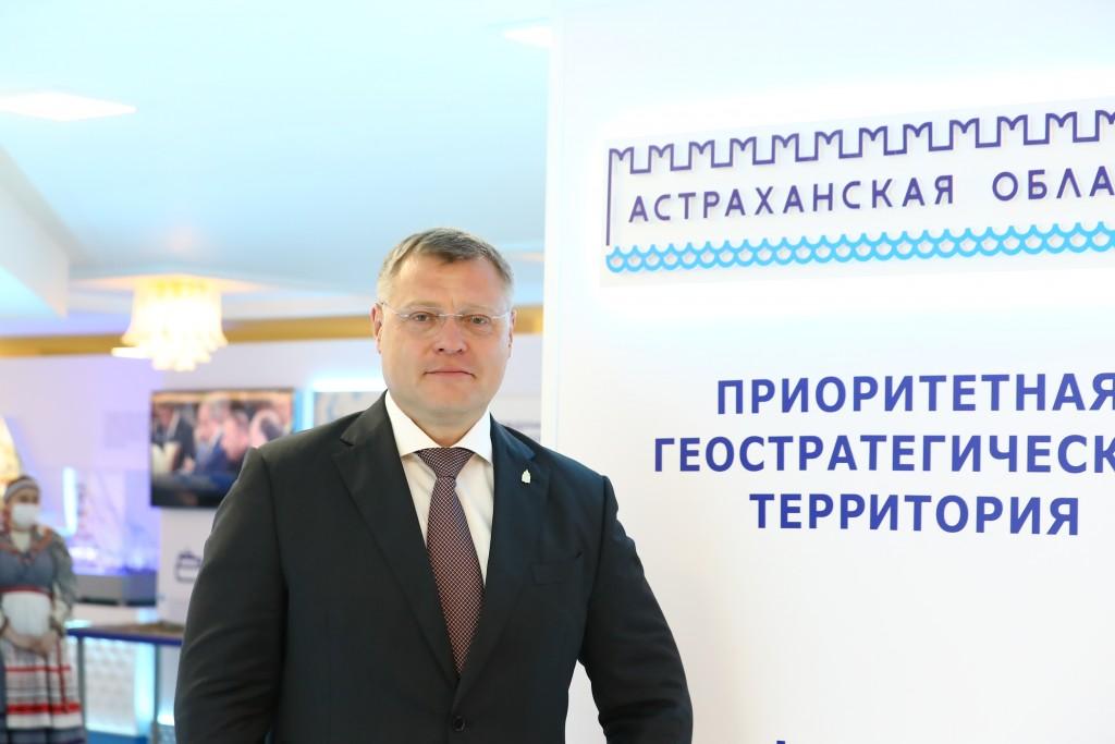 Астраханская делегация начала насыщенную работу на ПМЭФ