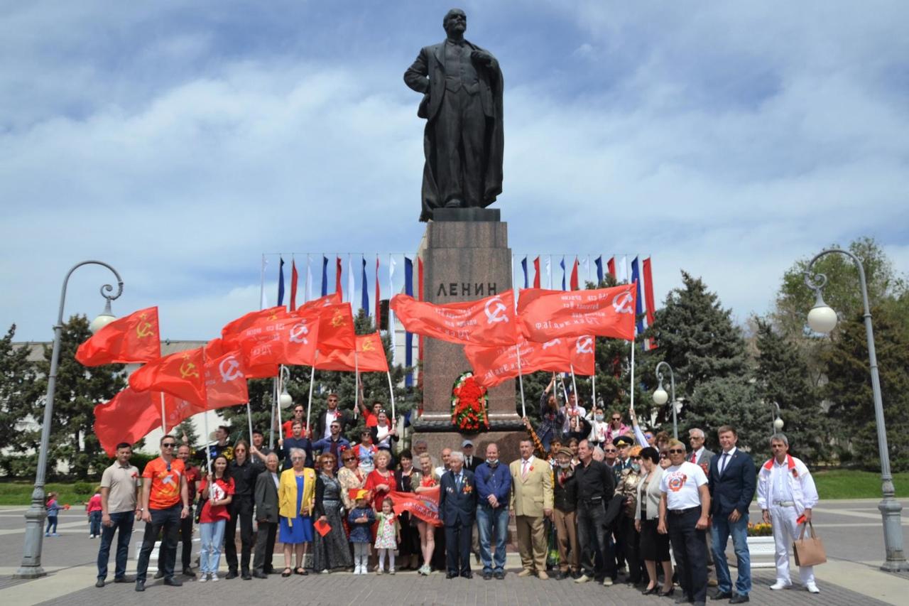 Красный День Победы в Астрахани