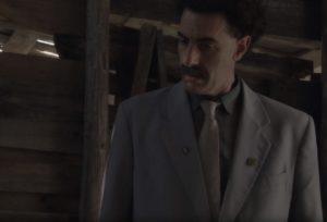 Герой фильма Борат-2 носит значок астраханского музея