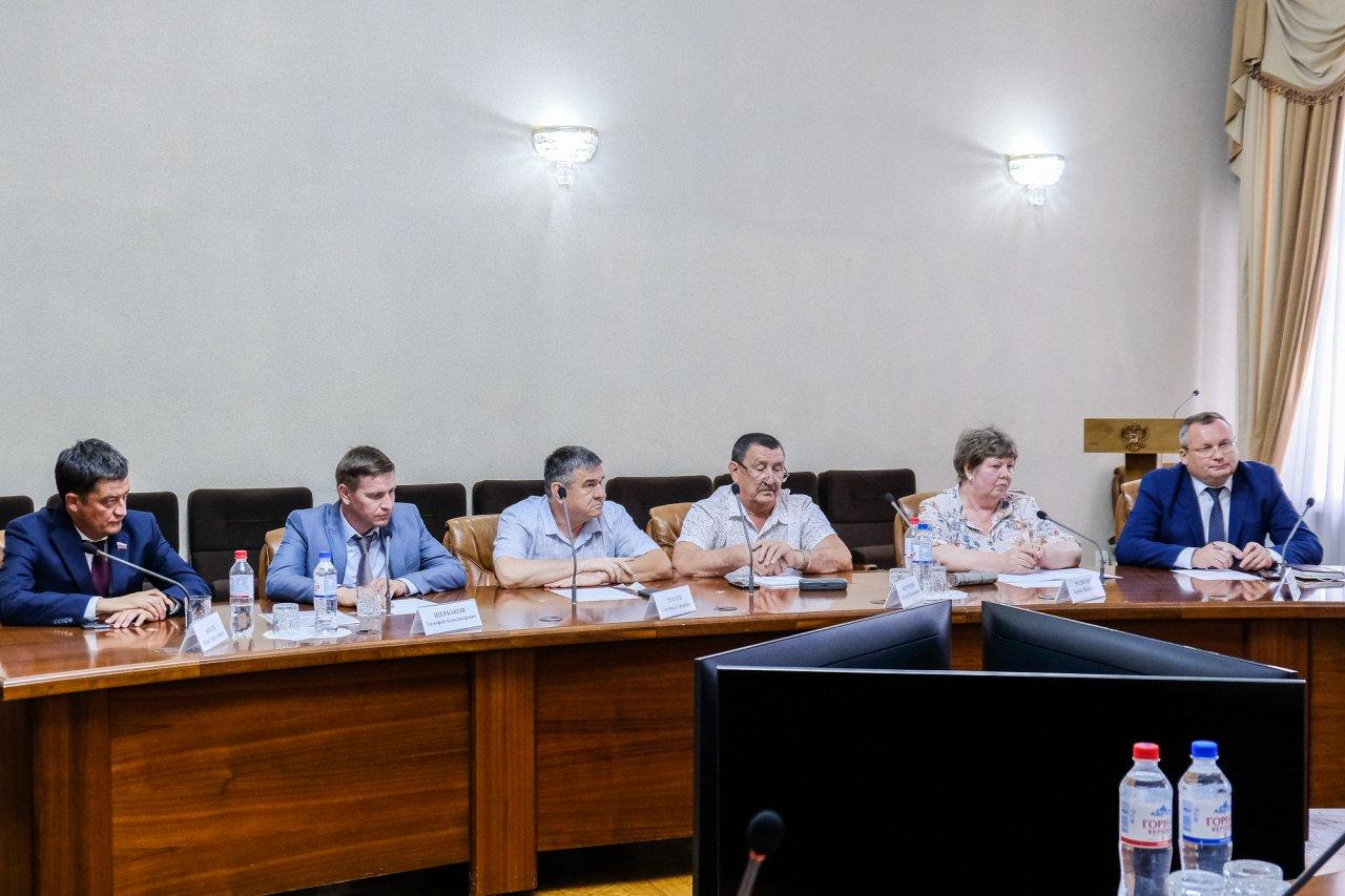 Игорь Бабушкин поговорил с лидерами фракций облдумы о мостах и собаках