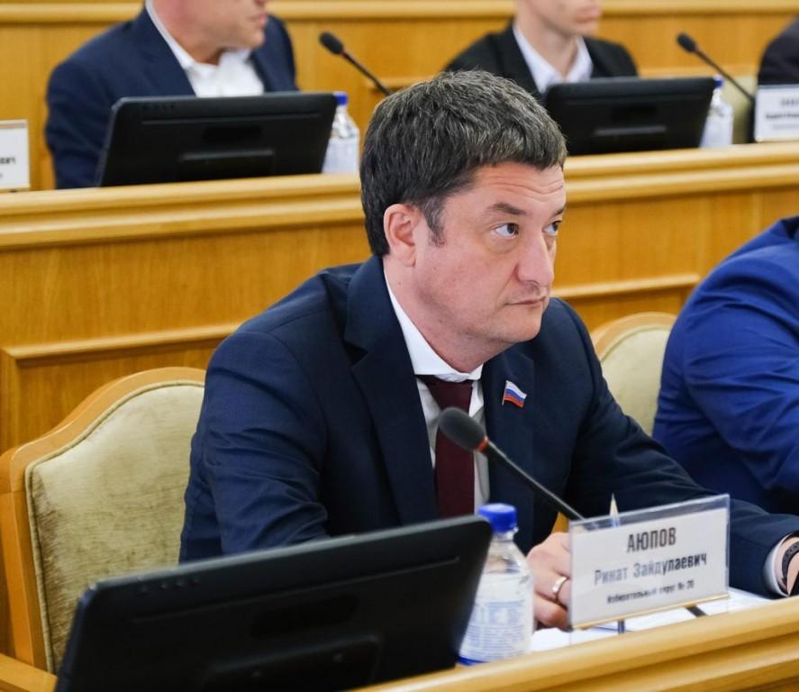 Ринат Аюпов подвел основные итоги работы на посту депутата Думы Астраханской области VI созыва
