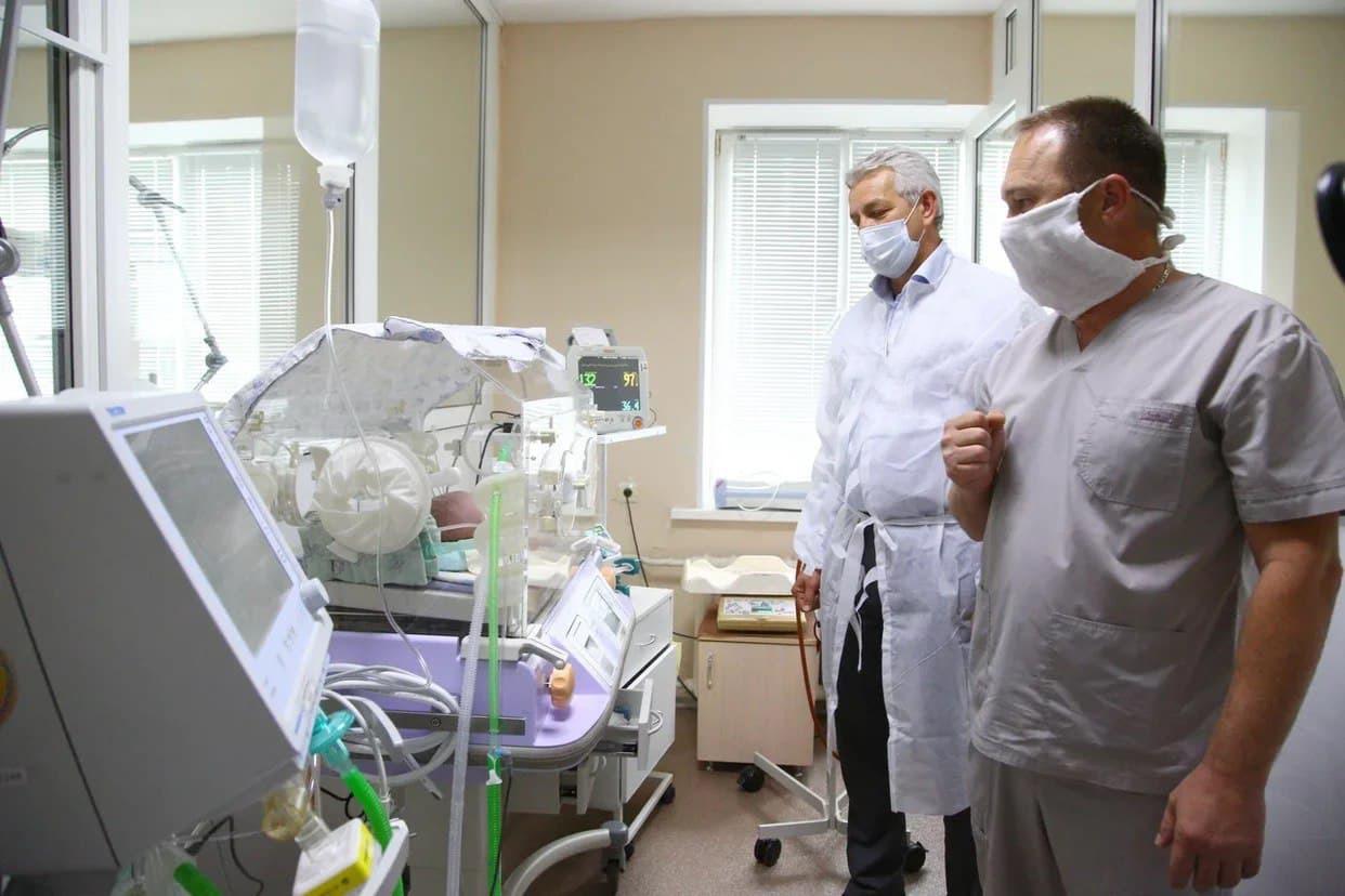 В астраханском ковид-госпитале для детей до года почти не осталось мест